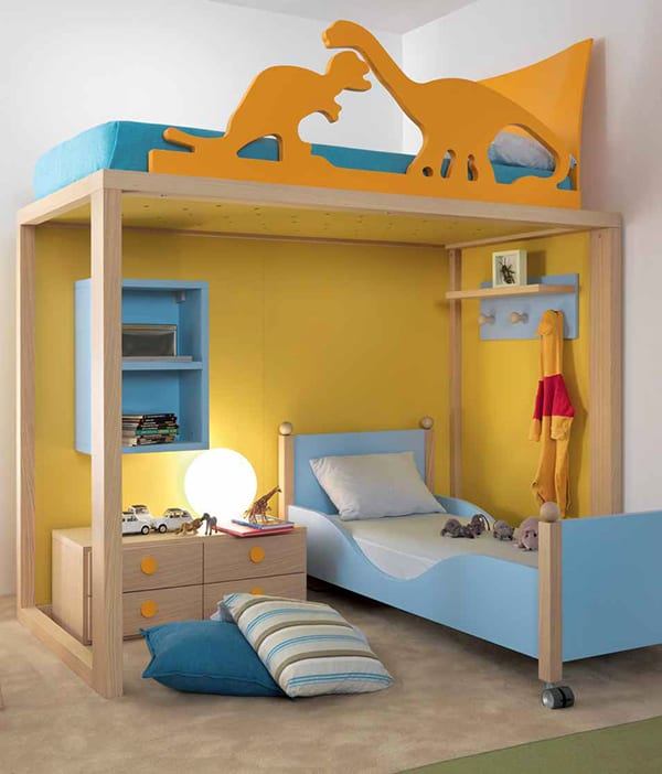 Kids bedroom design ideas and pictures by dear kids for Children s bedroom ideas