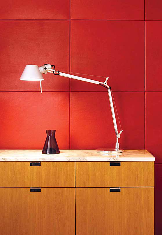 leather panels interior design spinneybeck 2 Leather Panels Interior Design by Spinneybeck