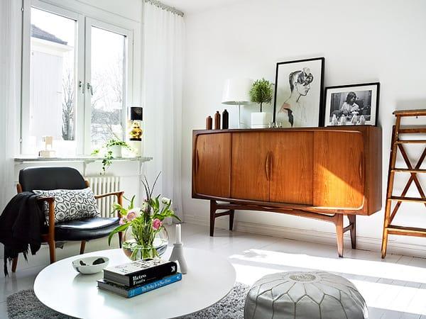light colored wood flooring adds charm swedish apartment 2 Light Colored Flooring Adds Charm