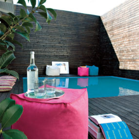 Pool Deck Design Idea from Linea Italia inspired by Kube