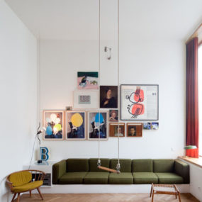 Eccentric in Berlin: a Space for an Architect to Live and Work
