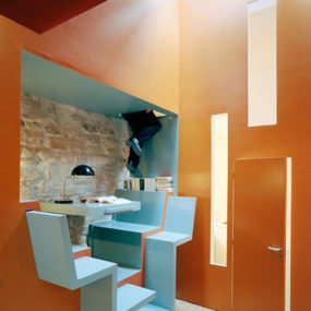 Living in Small Spaces – Ideas from Paris House by Christian Pottgiesser