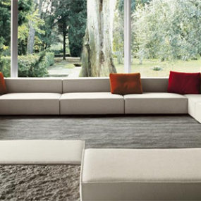 Interior Design Inspiration from Paola Lenti – transparent living room