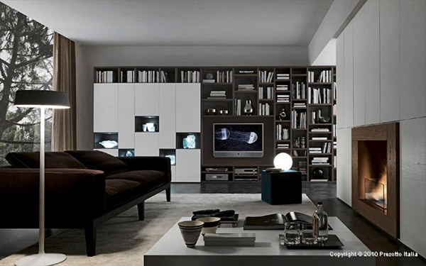 Living Room Storage Solutions, Ideas - \'Pari & Dispari\' units by ...