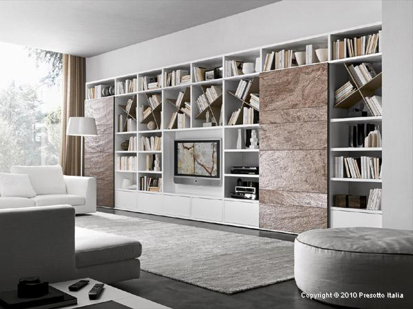 Living Room Storage Solutions Ideas Pari Dispari units by