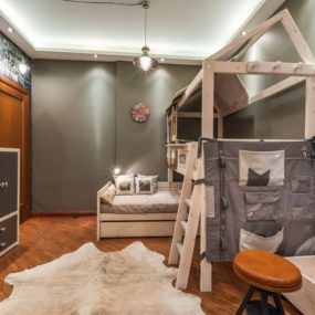 Loft Style Children's Room
