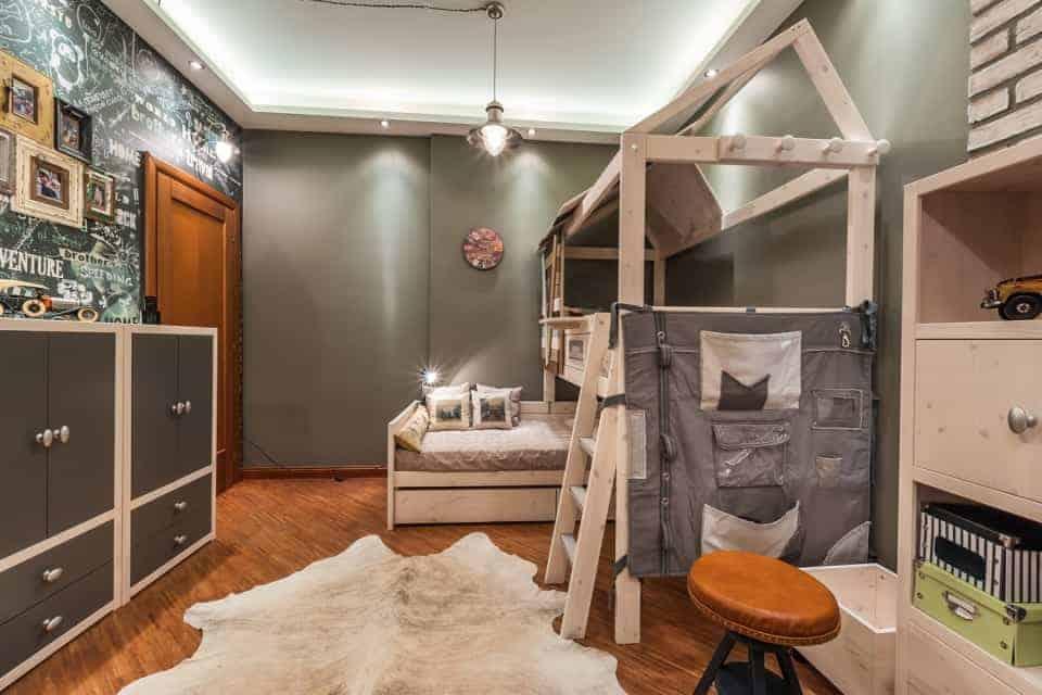attic ideas playroom - Loft Style Children s Room
