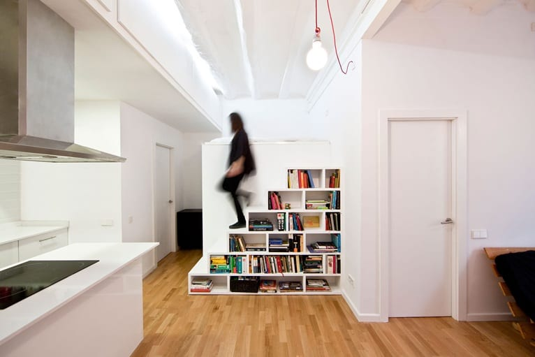 low cost renovation of compact city apartment