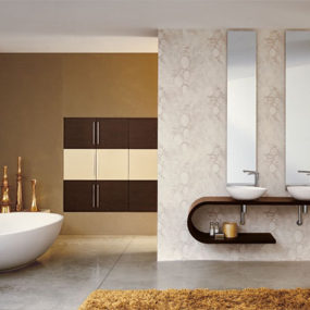Luxury contemporary bathroom that is stylish and elegant