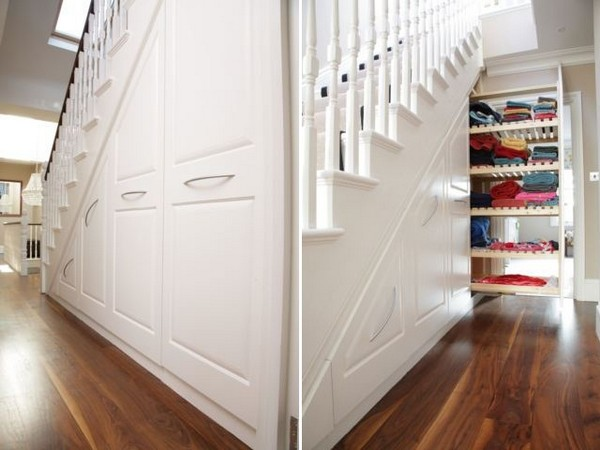 maximize space understairs storage 2 Maximize Space with Understairs Storage