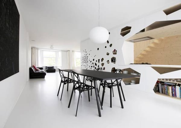 minimalist apartment interior ideas from amsterdam - Minimalist Apartment Design