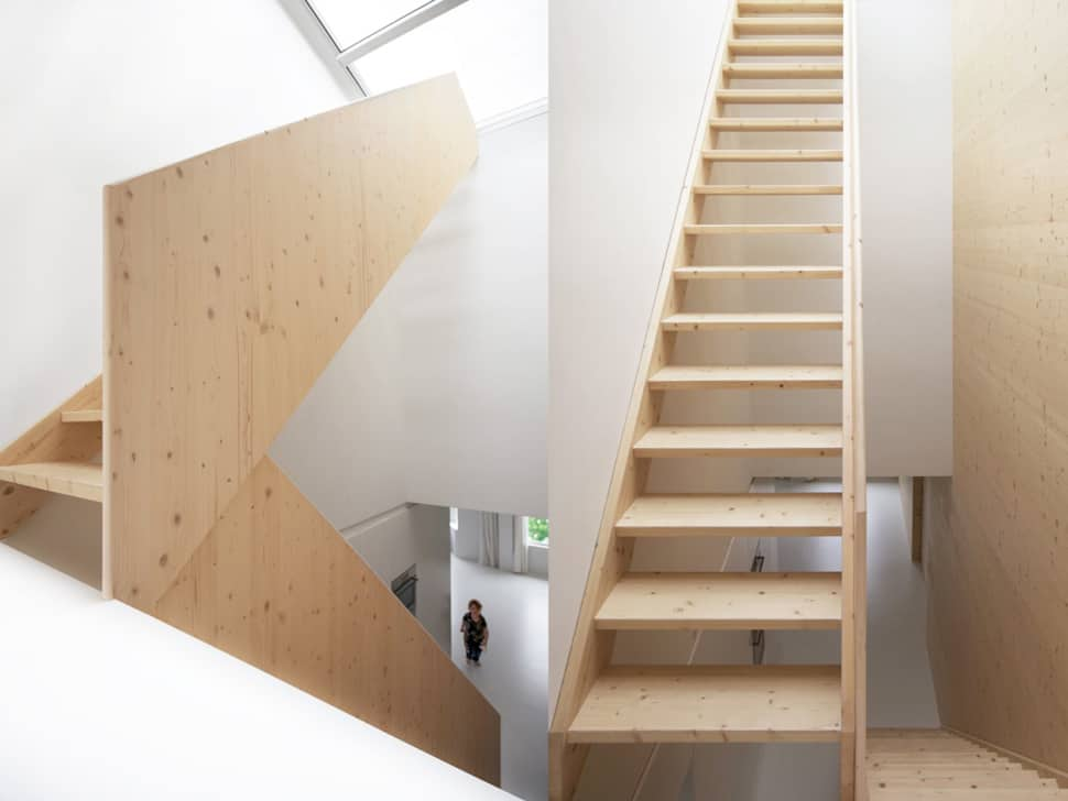 View In Gallery Minimalist Apartment White Walls Pine Light