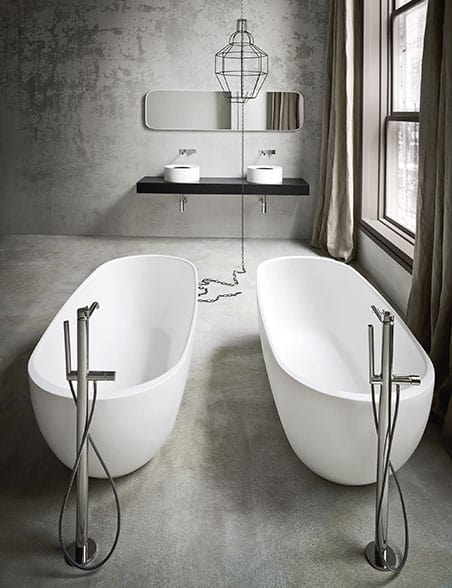 Minimalist Bathroom Inspirations From Rexa Design Interesting Bathroom Plumbing Layout Minimalist