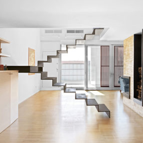 Minimalist Staircase: 3 Unique Stair Designs in One House
