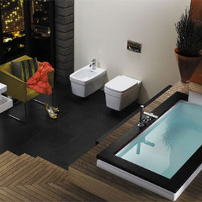 Modern Bathroom Idea from Jacuzzi – Aura Bath is your choice for relaxation