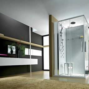 Interesting Modern Bathroom Design from Titan