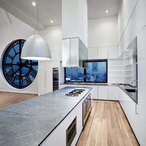 Modern Gaggenau Kitchen in the High Times Penthouse
