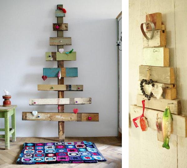 modern holiday interiors 10 christmas tree alternatives 7