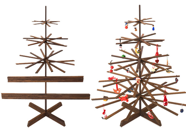modern holiday interiors 10 christmas tree alternatives 9