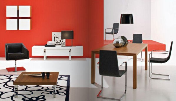 modern living room inspiration1 calligaris Modern Living Room Interior Design Ideas & Inspirations for 2009 by Calligaris