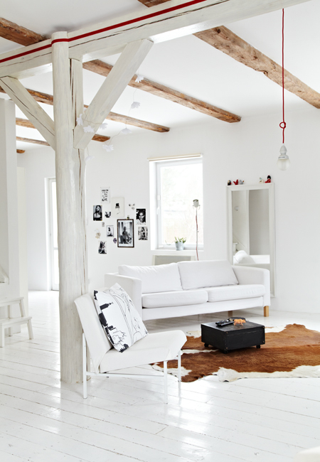 modern nordic style apartment fun quirky elements 1 Modern Nordic Style Apartment with Fun Quirky Elements