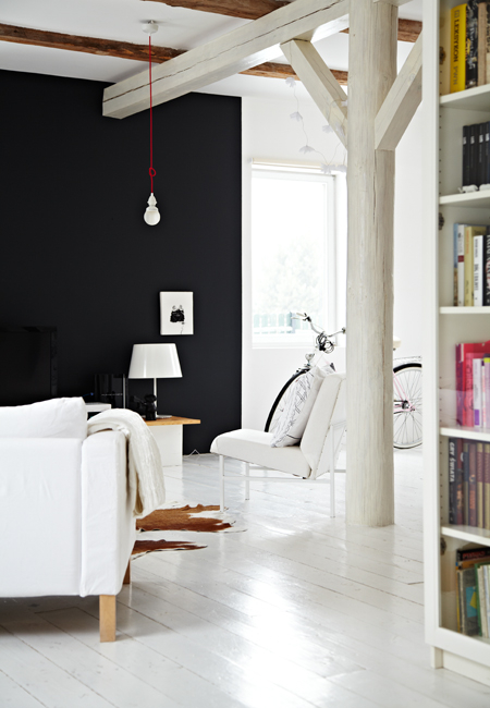 modern nordic style apartment fun quirky elements 2 Modern Nordic Style Apartment with Fun Quirky Elements