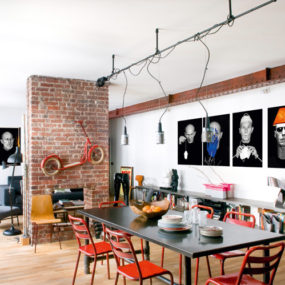 Modern Urban Loft goes from Paris to New York