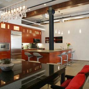 Multi Level Floor Plan Adds Interest