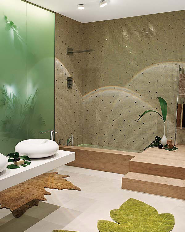 nature inspired bathroom design 1 Nature Inspired Bathroom Design