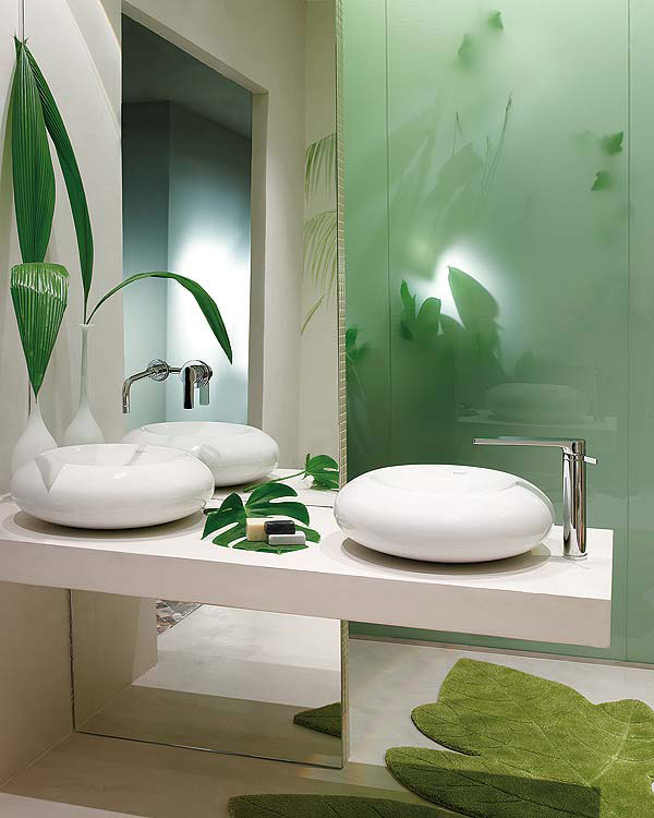 nature inspired bathroom design 2 Nature Inspired Bathroom Design