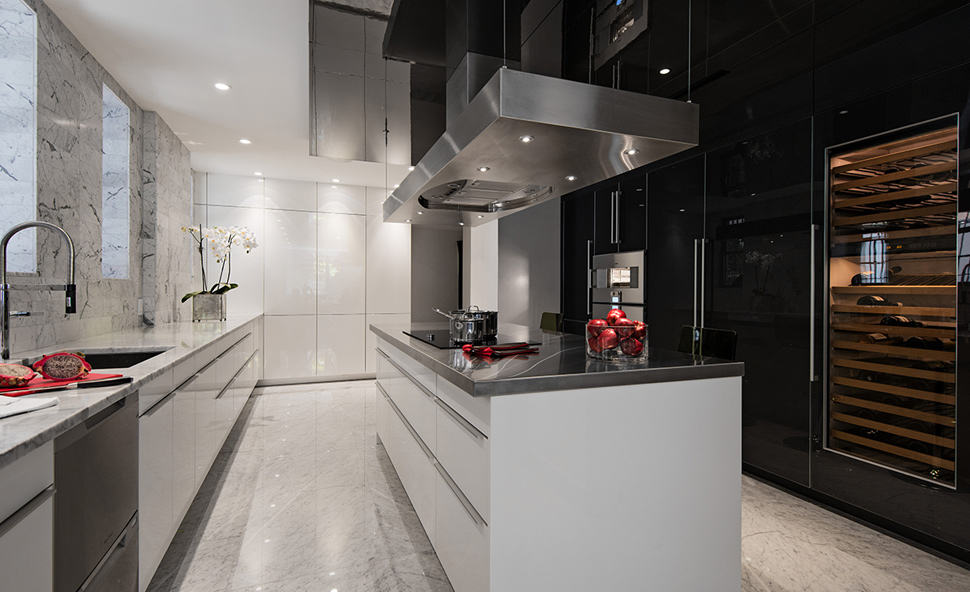 Modern Neoclassical Interiors Mixed with Contemporary by Britto Charette