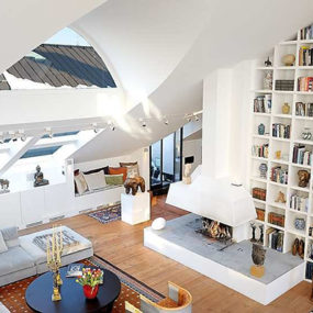 Open Plan Loft with Amazingly High Ceilings