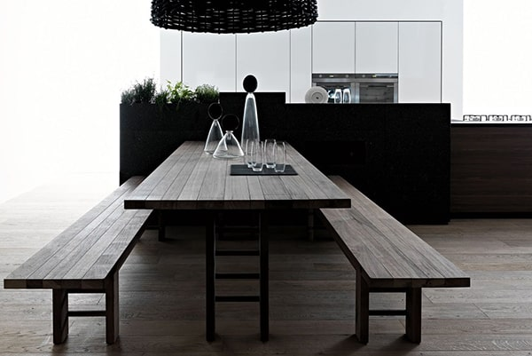 open space living room designs valcucine 17