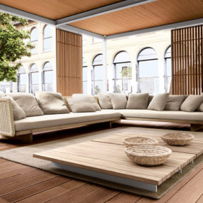Outdoor Interior Design – a different kind of interiors by Paola Lenti