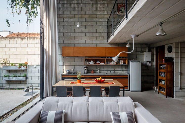 Exterior Like Interiors Cozy Urban Home In Sao Paolo