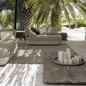 Patio Design Idea from Paola Lenti – The Dominance of the Gray