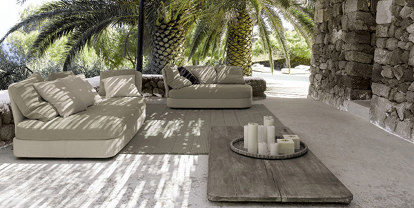 paola lenti patio design inspirations gray Patio Design Idea from Paola Lenti   The Dominance of the Gray
