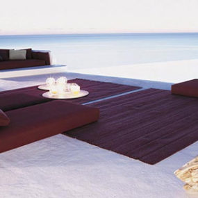 Outdoor Living Idea – Eastern-inspired beach setting from Paola Lenti