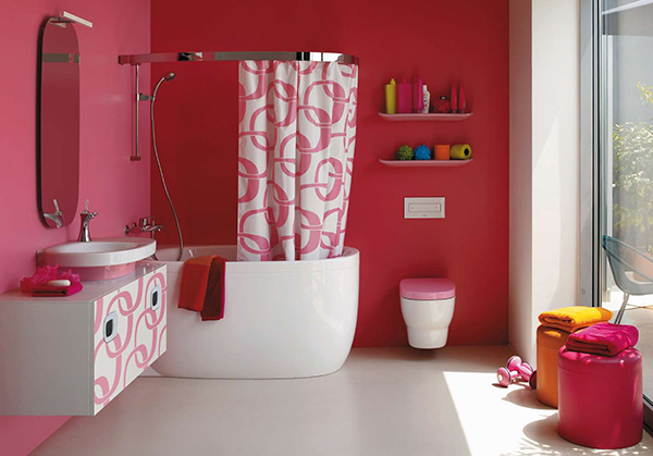 pink bathrooms and pink bathroom ideas laufen 4 Pink Bathrooms & Pink Bathroom Ideas by Laufen