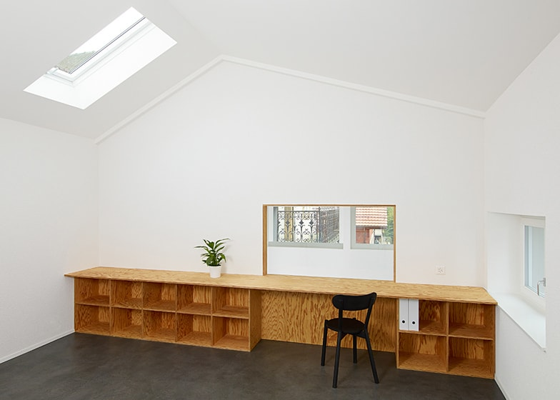 office built in furniture. View In Gallery Plywood-built-in-furniture-by-big-game-4. Office Built Furniture