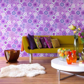 Purple Color Interior Trend