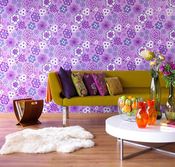 purple color interior trend 1 Purple Color Interior Trend