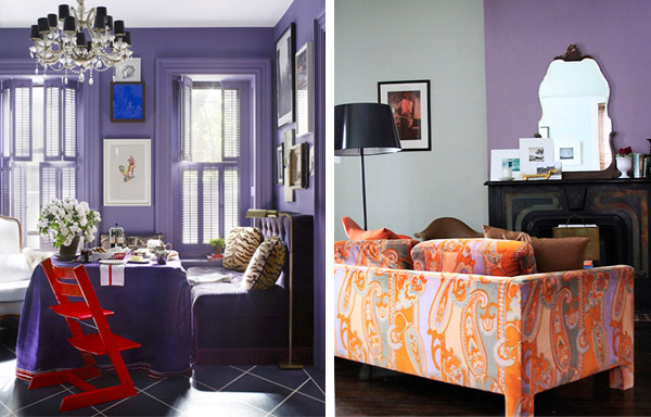 purple color interior trend 2 Purple Color Interior Trend