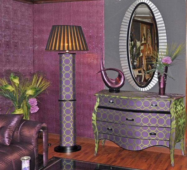 purple living room 1 Purple Living Room