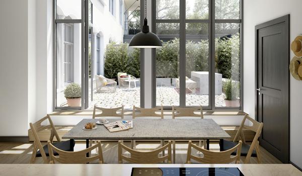retro modern apartment design 2 Retro Modern Apartment Design