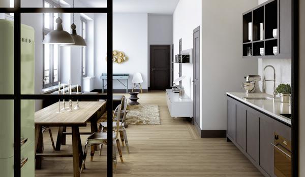 retro modern apartment design 7