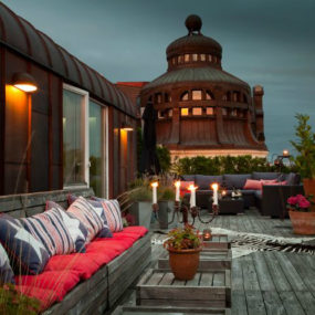 Rooftop Terrace Interior Design