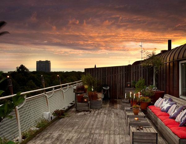 rooftop terrace interior design 2 Rooftop Terrace Interior Design