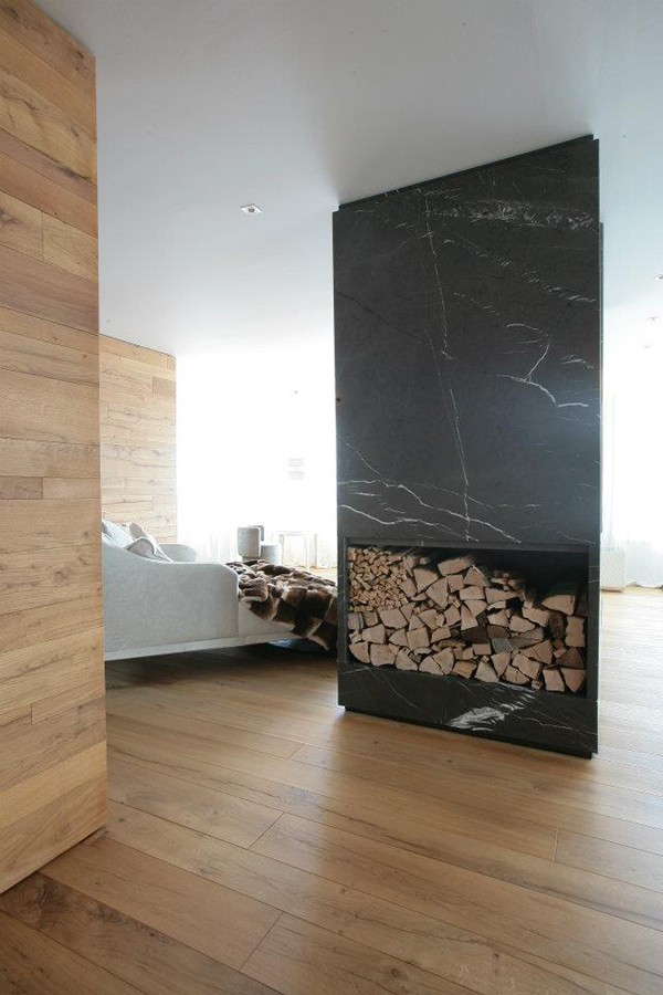 room divider fireplace marble design carlo colombo 2