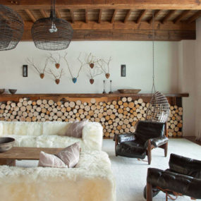Rustic Chic Revival in Classic Cabin with Eclectic Details